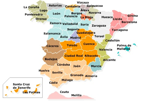 Map Of Spain Over Time.The Spanish Civil War 1936 1939 Euro Magazine English